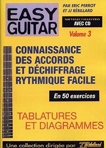 Méthodes et pédagogie JJREBILLARD REBILLARD - EASY GUITAR VOL.3 + CD Guitare acoustique