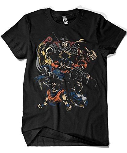 1576-Camiseta Anime Invincible Team (Legendary P,)