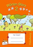 Wörter-Stars: 2. Schuljahr - Übungsheft: Mit Lösungen