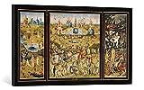 Gerahmtes Bild von Hieronymus Bosch