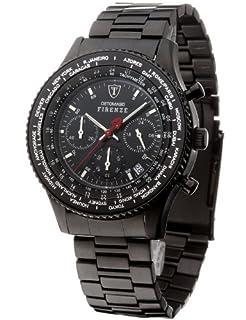 DETOMASO Men's Firenze Quartz Watch with Black Dial Chronograph Display and Black Stainless Steel Bracelet SM1624C-BK (B0036ZBTCO) | Amazon price tracker / tracking, Amazon price history charts, Amazon price watches, Amazon price drop alerts
