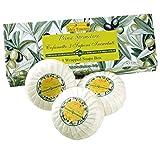 Idea Toscana - Traditionelle Marseille Seife, Traditional Marsiglia Soap 3 x 100 Gramm Box - Prima...