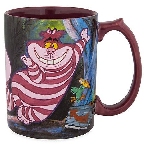 Disney Cheshire Cat Gato de Cheshire Mug Taza