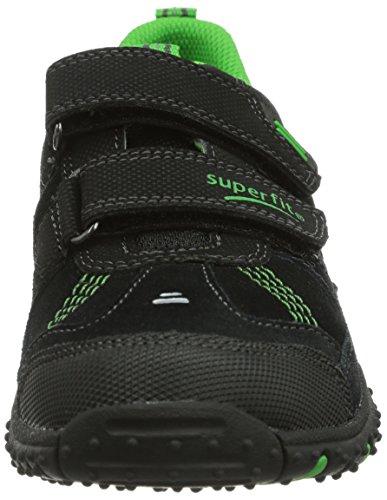 Superfit 30022402  SPORT4, Jungen Sneakers Schwarz (SCHWARZ KOMBI 02)