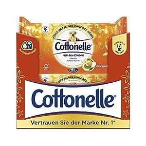 Cottonelle Feuchte Toilettentücher mein Spa Erlebnis