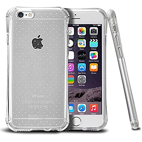 "iPhone 6 / 6S Plus 5.5 ""Air Cushion Case"" Custodia Protettiva con Angoli Rinforzati Cover Morbida e Flessibile in Silicone Tpu Trasparente Resistente agli urti per iPhone 6 / 6S Plus 5.5 Parubi®"