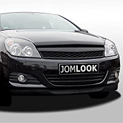 JOM 6320030MOE Front Grill Opel Astra H 3 doors 05-07, black, badgeless, sport look