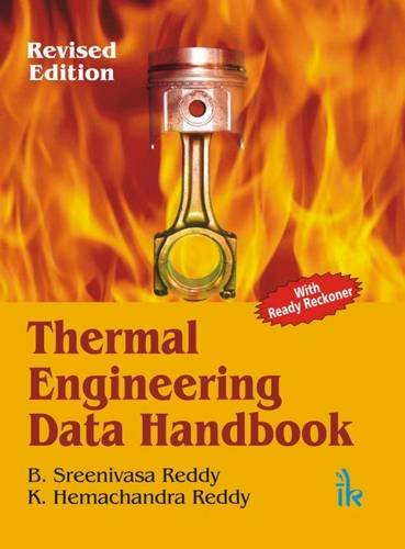 Thermal Engineering Data Handbook (with Ready Reckoner)