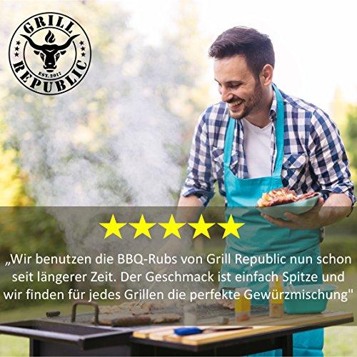 51Uu wMsZCL - BBQ-Rub Gewürzmischung Geile Sau von Grill Republic/BBQ-Gewürz für Schweinefleisch/Premium Schweinefleisch-Gewürz für Spared Ribs/für Smoker, Grill, Ofen und Pfanne/250g