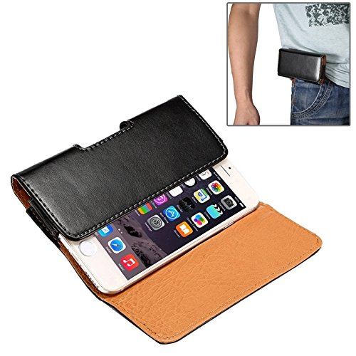 Für iPhone 4,7 Zoll Fall, Für iPhone 6 & 6S / Samsung Galaxy S4 / S3 horizontale Stil Lamm Haut Textur Gürteltasche mit Rückenschiene (4,7 Zoll)