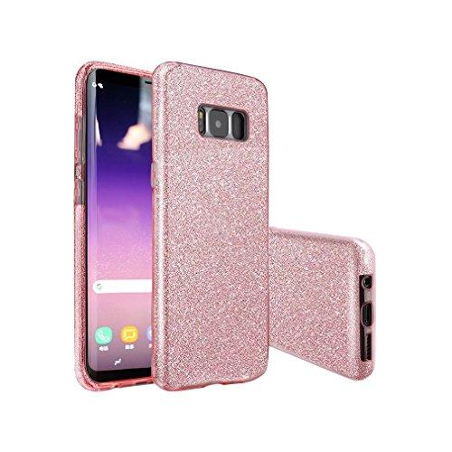 samsung s8 phone case glitter gel