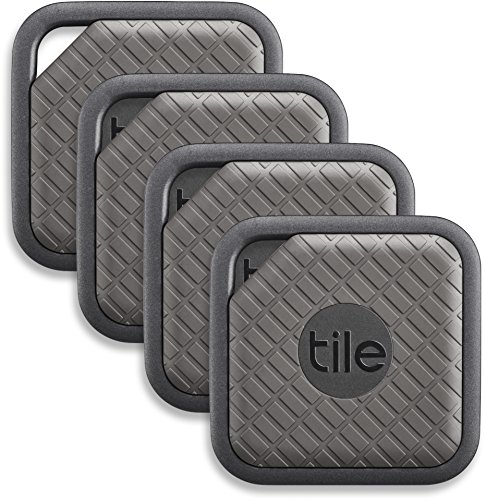 Tile Sport - Chercheur de clés. Chercheur de téléphones. Trouvez n'importe quoi (Graphite) - Set de 4