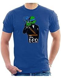 Cloud City 7 The Great Leo Teenage Mutant Ninja Turtles Gatsby Mix Men's T-Shirt