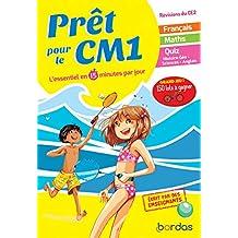 Prêt pour le CM1 – Cahier de vacances, révisions du CE2
