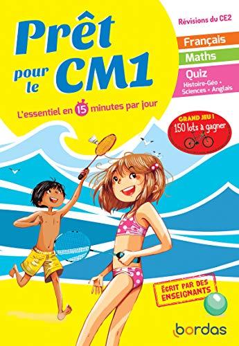 Prêt pour le CM1 – Cahier de vacances, révisions du CE2 par  Emelyne Giraudon