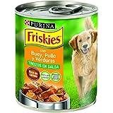 Friskies Alimento para Perro, Húmedo Trozos En Salsa Con Buey, Pollo Y Verduras Añadidas - 800 g