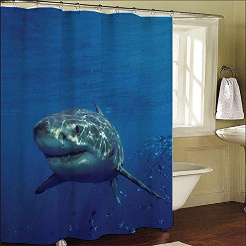 GYMNLJY 3D Animal tenda doccia bagno impermeabile ispessito tende 180x200 cm
