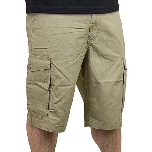 LRG RC Cargo Shorts british khaki 36 (Khaki Lrg)