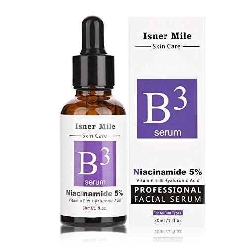 Niacinamid 5% Vitamin B3 Gesichtsserum 30 Ml, Hyaluronsäure Serum Hochdosiert von D.obsessed -...