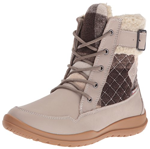 Kamik Women's Barton Snow Boot, Taupe, 8 M US