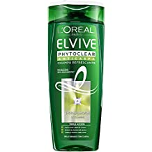 LOreal Paris Champú Elvive Phytoclear Anticaspa 370 ml - Cabello graso