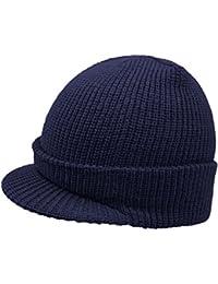 EveryHead Fiebig Men s Knit Cap Hat Winter Beanie Uni with Peak for Men (FI- 42d9e88960bd