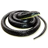 #10: kritika Toys & Gifts Rubber Snakes Prank Toy (Assorted Colours, 28 inch)