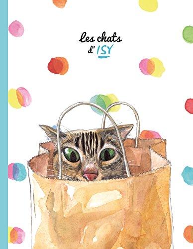 Cahier bleu - Les chats d'Isy