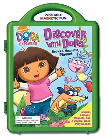 Discover with Dora Books & Magnetic Playset (Dora the Explorer (Reader's Digest))
