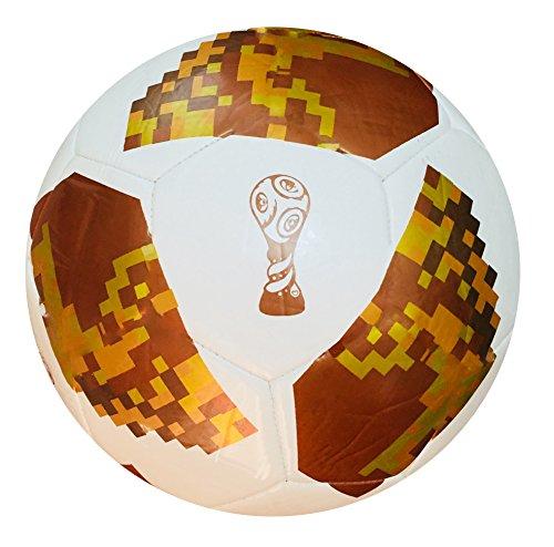 World Cup Fußball 2018Russland Replica Qualität Match Ball Größe 5,4,3-Spedster (der Fußball ist verpackt in einer schönen Geschenk Net Tasche), 4 (Replica World Soccer Cup)