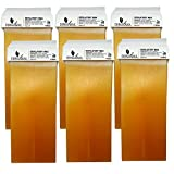 Dermawax Honig 6x 100 ml Wachspatronen, Warmwachspatronen, Enthaarungswachs, Haarentfernung...