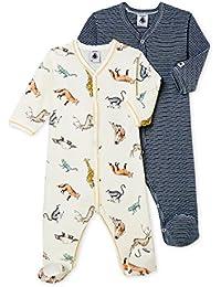 Petit Bateau Lot Db Gar, Camiseta de Pijama para Bebés (Pack ...
