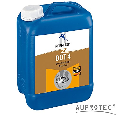 Auprotec ® normfest high tech fluid liquide brake dOT4 liquide de frein convient pour aBS eSP 5 l