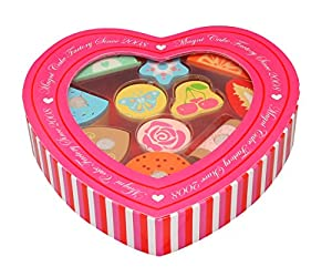 MAGNI-de Galletas de con Velcro en la Caja de Heartshaped, 2772