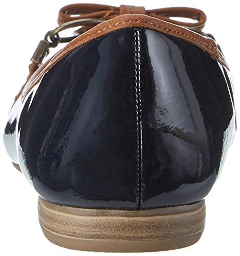 Marco Tozzi22138 - Ballerine Donna Blu (Navy Comb 890)