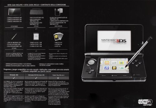 Imagen principal de Nintendo 3DS - Consola, Color Negro