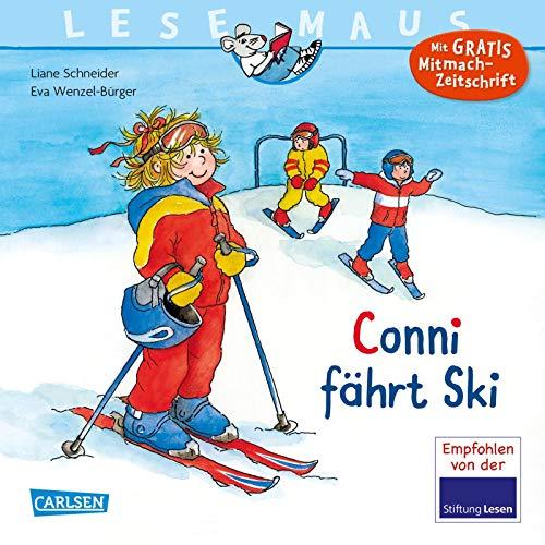 LESEMAUS 22: Conni fährt Ski (22)