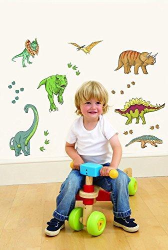 Suncrest FunToSee dinosaurio Dormitorio y Cuarto de niños pegatinas de pared