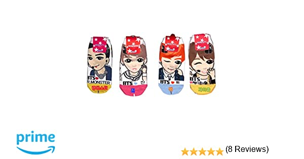 99867901c4ce3 Intype - Chaussettes - Femme - - BTS Socks 7 Pack,: Amazon.fr: Chaussures  et Sacs