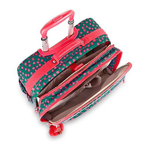 Kipling - MANARY - Sac à dos avec compartiment pour ordinateur portable - Monkey Frnds Kh - (Multi-couleur) Multicolore (Dot Play Print)