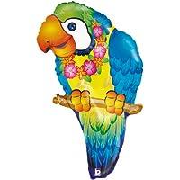 Betallic F85330 - Palloncino a forma di pappagallo, 73 cm