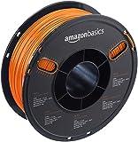 AmazonBasics - PETG 3D-Drucker Filament, 1,75 mm, 1 kg Spule, Orange