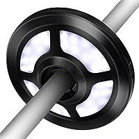 omorc lámpara para sombrilla, paraguas luces con 36 luces LED 2 Nivel regulables, recargable