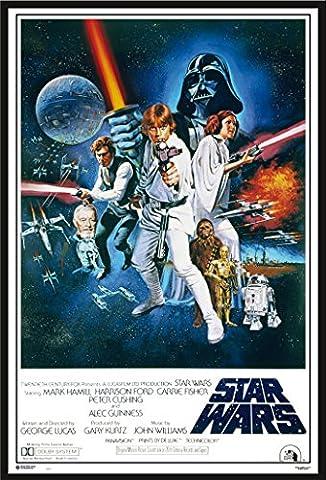 Star Wars - Orange Sword Of Darth Vad - Filmposter
