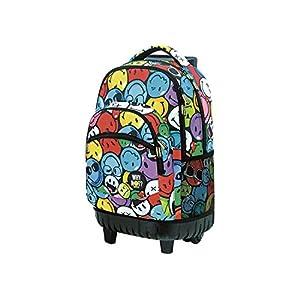 51UuF4t9okL. SS300  - Smiley World - Mochilas Carro Fijo smiley World fun multicolor, color Varios Colores