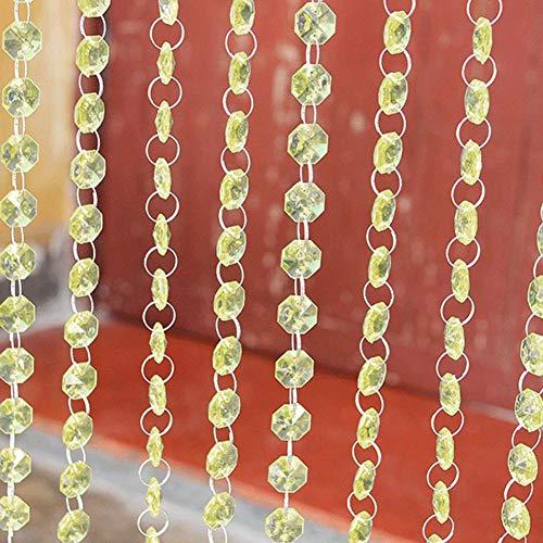 Juan 1 m acrílico Cristal de Diamantes Cuentas de Cadena para Cortinas de araña para Puertas decoración Accesorios de decoración de la Boda