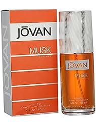 Jovan Musk Men EDC 88ml en vaporisateur, 1er Pack (1x 88ml)
