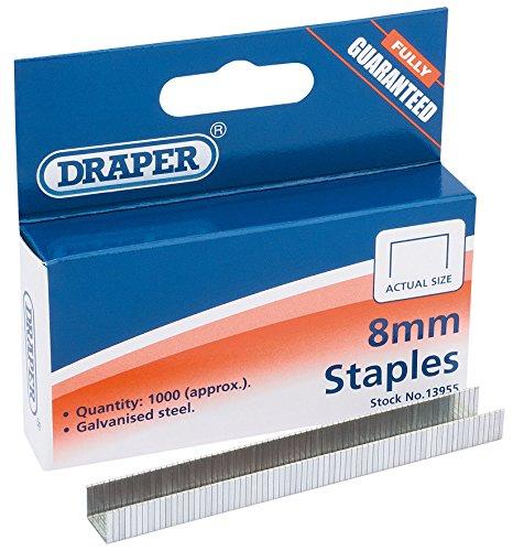 Draper - Agrafes 8mm
