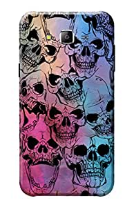 KanvasCases 3D Printed Hard Back Case For Samsung Galaxy J7