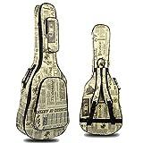 katomi Guitare en bois 101,6 cm 104 cm imperméable pour guitare acoustique paquet plus en coton épais pour guitare